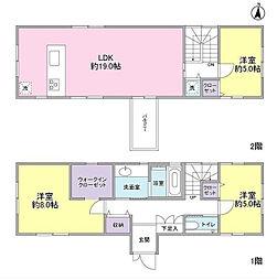 [一戸建] 東京都豊島区目白4丁目 の賃貸【/】の間取り