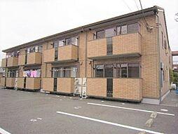 静岡県三島市加茂川町の賃貸アパートの外観