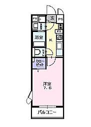 千葉県船橋市習志野台2丁目の賃貸マンションの間取り