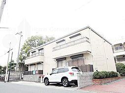 大阪府東大阪市金岡2丁目の賃貸アパートの外観