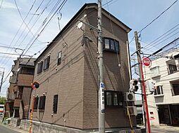 埼玉県新座市栗原3の賃貸アパートの外観