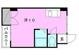 第2菊池ビル[303 号室号室]の間取り