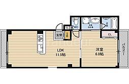 アリエッタ鶴見緑地[3階]の間取り