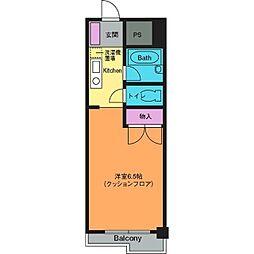 シャルマンコート[4階]の間取り
