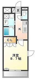 コンフォール神奈川[5階]の間取り