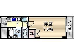 光寿ビル[6階]の間取り