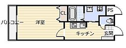 Forest court I[4階]の間取り