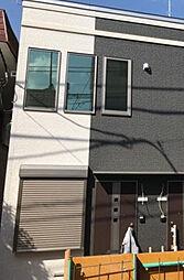 神奈川県川崎市多摩区三田4丁目の賃貸アパートの外観