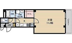 リーブル福島[3階]の間取り