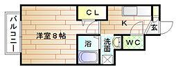 FunFun宗像[1階]の間取り
