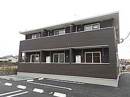 鹿児島県鹿児島市春山町の賃貸アパートの外観