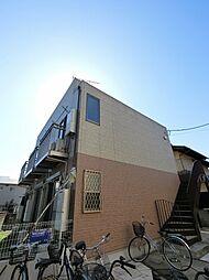 千葉県千葉市稲毛区穴川2の賃貸アパートの外観