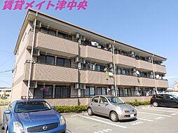三重県津市高洲町の賃貸マンションの外観