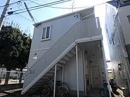 兵庫県神戸市灘区下河原通2丁目の賃貸アパートの外観