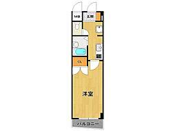 SOLO伊丹中央[2階]の間取り