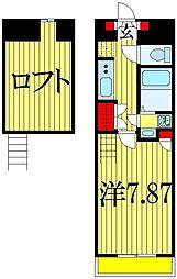 ニューライフ津田沼A棟[1階]の間取り