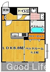 メゾン ド オハナ[3階]の間取り