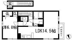 サニーコート(下加茂1丁目)[2階]の間取り