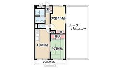 愛知県名古屋市緑区篠の風3丁目の賃貸マンションの間取り