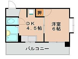 メモリープラザ吉塚[5階]の間取り