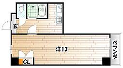 ロイヤルセンチュリー[8階]の間取り