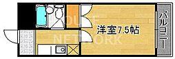 バルコ衣笠[211号室号室]の間取り