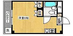 コーポタマ[3階]の間取り