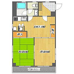Sixth Maison de Yoshino 〜第6メゾン[5階]の間取り