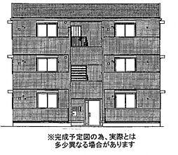 ポルト白石A棟[2階]の外観