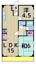 小高マンション[1階]の間取り
