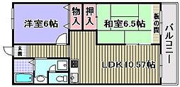 ドルチェ2[104号室]の間取り
