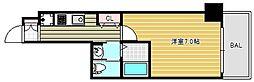 CQレジデンス大阪ウエスト[7階]の間取り