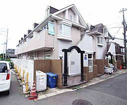京都府京都市右京区西京極薮ノ下町の賃貸アパートの外観