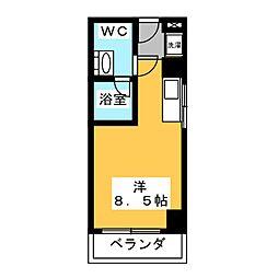 翔うらら[2階]の間取り