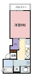 リープラス藤江[1階]の間取り