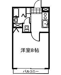 アグレアーブル28[4階]の間取り