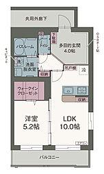 JR東海道本線 静岡駅 バス21分 桜町(バス停名)下車 徒歩1分の賃貸マンション 2階1LDKの間取り