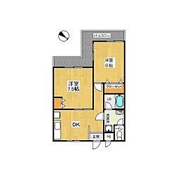 第二セーフズマンション[4階]の間取り