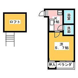 コンパートハウス本星崎[1階]の間取り