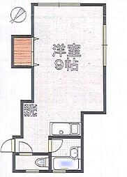 蓬莱荘〜ホウライソウ〜[2階]の間取り