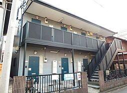 神奈川県川崎市中原区今井南町の賃貸アパートの外観