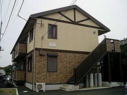 神奈川県秦野市鶴巻北1丁目の賃貸アパートの外観
