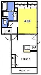 (仮称)浦和上木崎4丁目D-room[301号室号室]の間取り