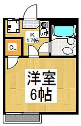 フィガロ館[2階]の間取り