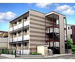 京都府京都市北区大宮西小野堀町の賃貸アパートの外観