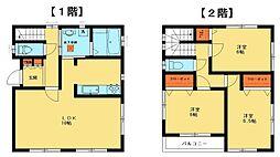 [一戸建] 千葉県我孫子市並木8丁目 の賃貸【/】の間取り