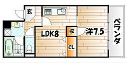 18ビル[301号室]の間取り