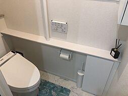 収納があるトイレ