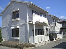 コーポスリーウィローA棟[2階]の外観