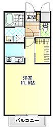 ジ・アパートメント荻窪I[103号室]の間取り